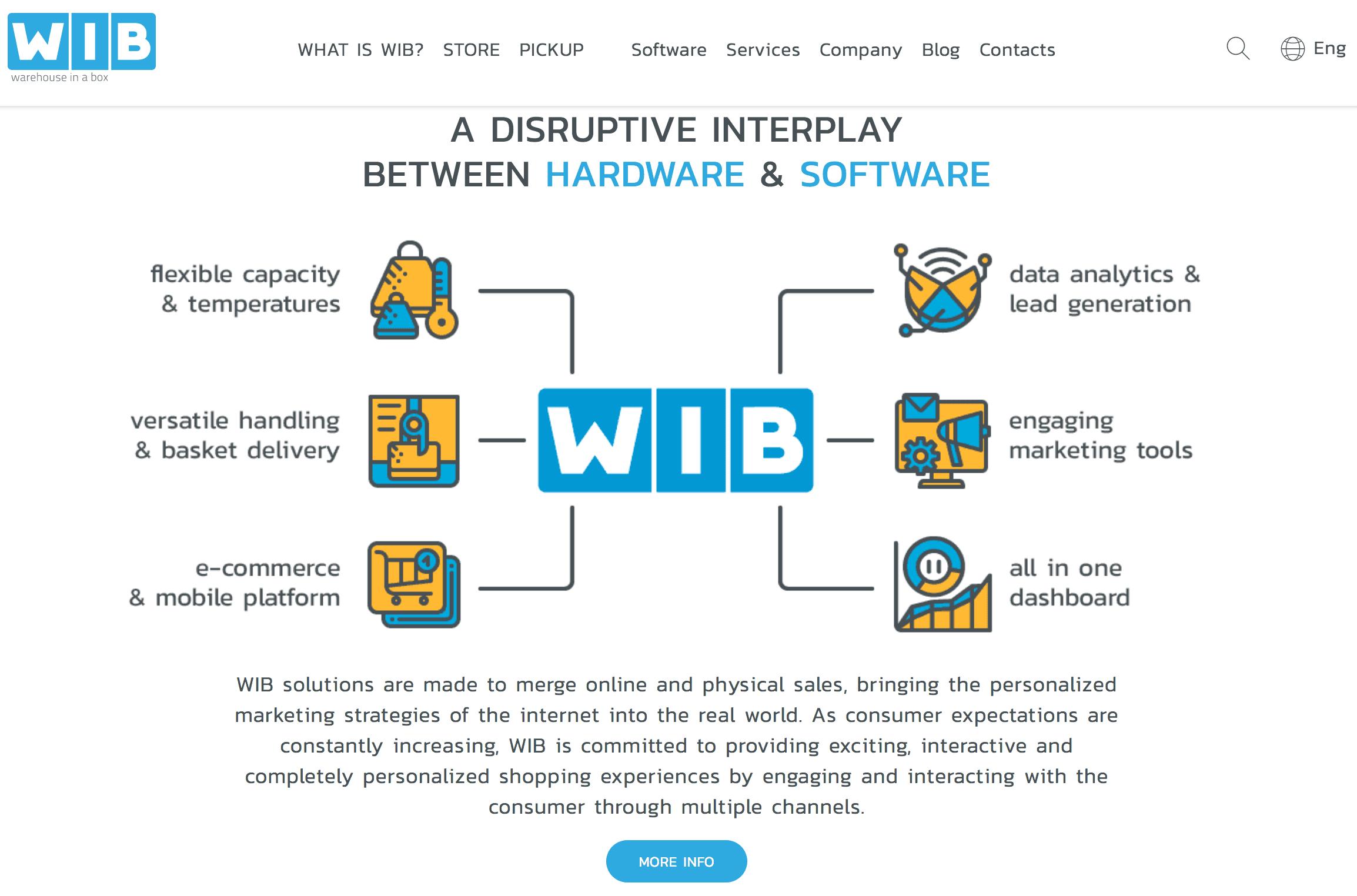 Wib Machines new website