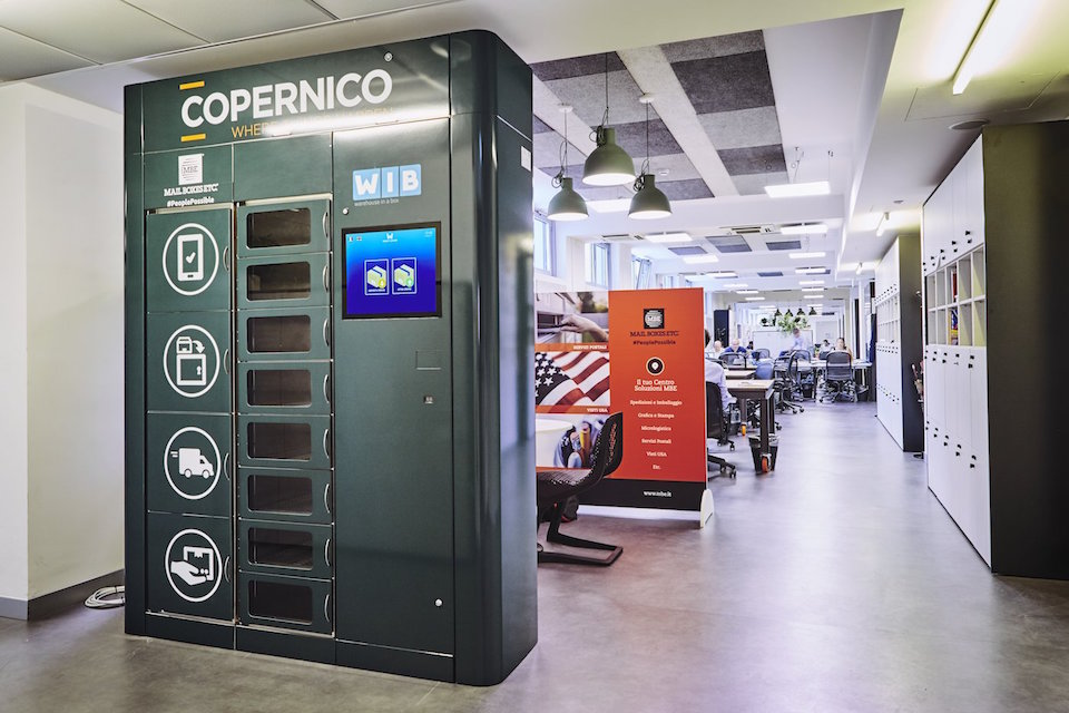 smart locker wib in copernico milano